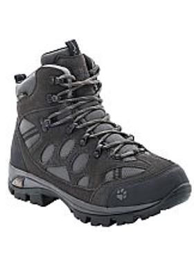 Jack Wolfskin All Terrain 7 Texapore Mid Kadın Bot - Shadow Black