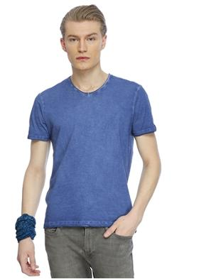Loft Slim Fit V Yaka T-Shirt
