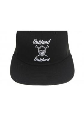 New Era Sılver & Black Attack 9Fıfty Oakland Raıders Black Unisex Şapka