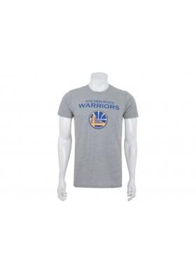 New Era Nba Top 6 Golden State Warrıors Lıght Grey Heather Erkek T-Shirt
