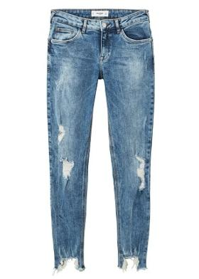Mango Kim skinny push-up jean pantolon
