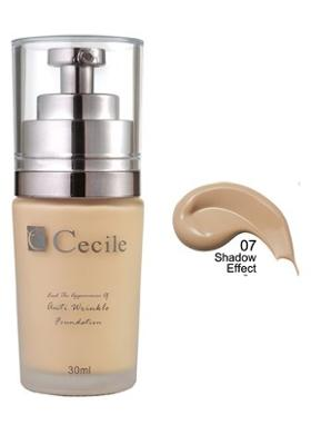 Cecile End The Appearance Of Anti Wrinkle Foundation  07
