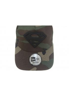 New Era Camo Metal Hero Aframe Superman Woodland Camo Unisex Şapka