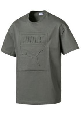 Puma Archive Embossed Print Tee T-Shirt