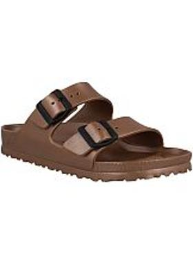Birkenstock Arizona Eva Kadın Terlik - Metallic Copper