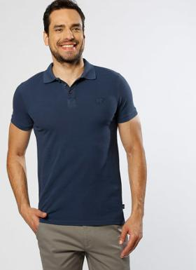 BAD BEAR Polo Yaka Lacivert T-Shırt