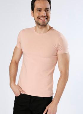 Loft Basic Pembe T-Shirt