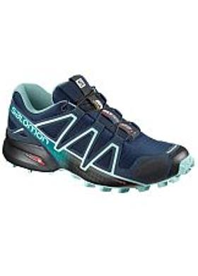 Salomon Speedcross 4 Kadın - Poseidon-Eggshell Blue-Black