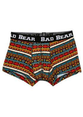 BAD BEAR Etnik Desenli Boxer