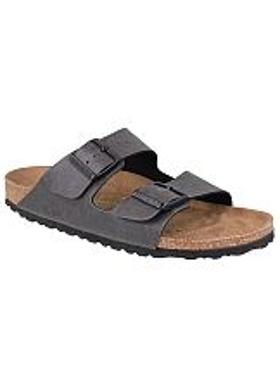 Birkenstock Arizona Kadın Terlik - Pull Up Anthracite