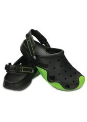 Crocs Swiftwater Clog Men - Black-Volt Green