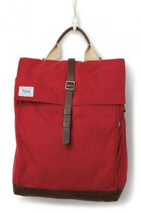 Toms Chili Utility Canvas Backpack