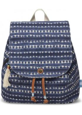 Toms Navybatik Stripe Backpack