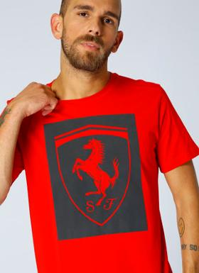Puma Ferrari Big Shield T-Shırt