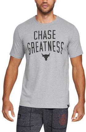 Under Armour Project Rock Chase Greatness Ss T T-Shirt