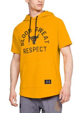 Under Armour Project Rock Respect Ss Hoodie Sweatshirt
