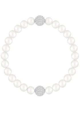 Swarovski Swarovski Remix Collection White Crystal Pearl Rodyum Kaplama Bileklik