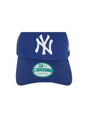 New Era 940 League Basıc New York Yankees Unisex Şapka Mavi