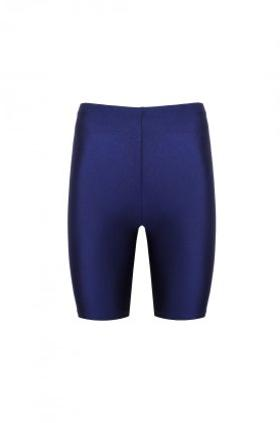 ANAİS MARGAUX paris Clara Shiny Biker Cobalt Blue Leggings