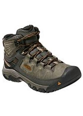 Keen Targhee III Mid WP Erkek Bot - Black Olive-Golden Brown