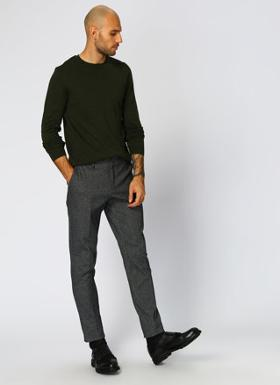 GEORGE HOGG Smart Casual Siyah Klasik Pantolon