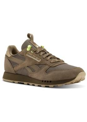 Reebok Cl Leather Mu Grey/Neutral/Lemon Z