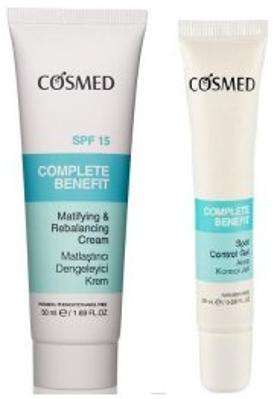 Cosmed Complete Benefit Matifying And Rebalancing Cream Spf15 50 Ml + Complete Benefit Spot Control Gel 20 Ml