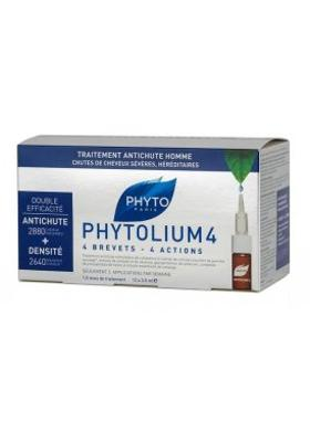 Phyto Phytolium 4 Chronic Thinning Hair Treatment Serum 12 X 3.5 Ml