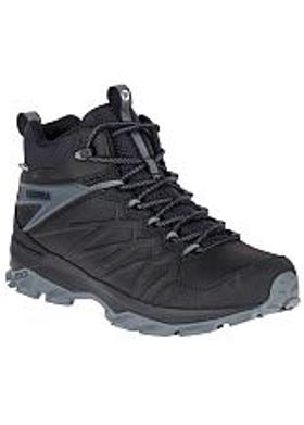 Merrell Thermo Freeze Mid Waterproof Erkek Bot - Black-Black