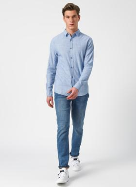 Lee Cooper Mavi Denim Pantolon