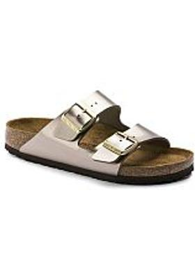 Birkenstock Arizona Kadın Terlik - Electric Metallic Taupe