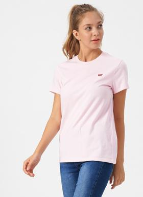 Levi's Perfect Tee Pink Lady T-Shirt