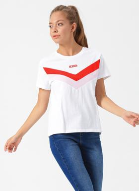 Levi's Florence Tee Florence Tee White Graphic T-Shirt