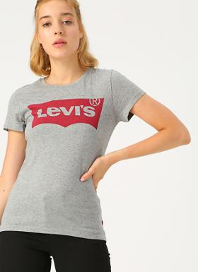 Levi's The Perfect Tee Better Batwing Smokesta T-Shirt
