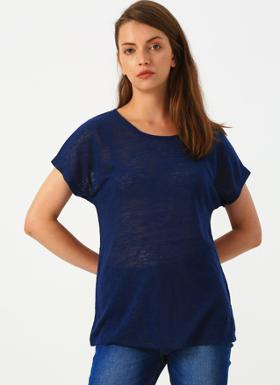 Loft Regular Fit Lacivert T-Shirt