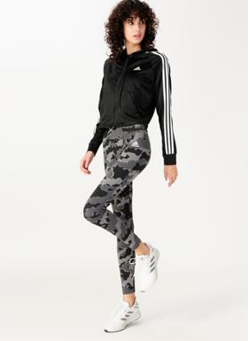 Adidas DZ8708 Hoody and Tight Eşofman Takımı
