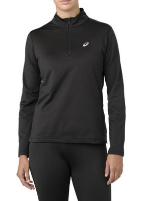 Asics Silver Ls 1/2 Zip Winter T-Shirt