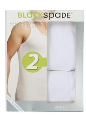 Blackspade Tender Cotton 2 Pack Singlet İç Giyim Atlet