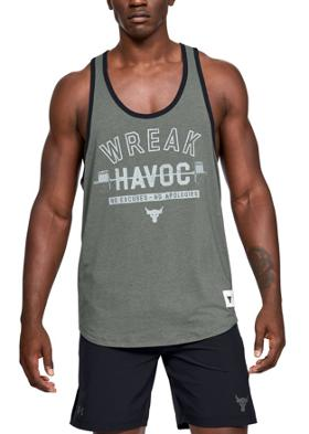 Under Armour Project Rock Tank Wreak Havoc Atlet