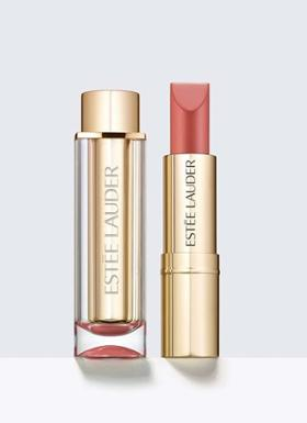 Estee Lauder Pure Color Love Lipstick 100 Blaisé Buff Ruj
