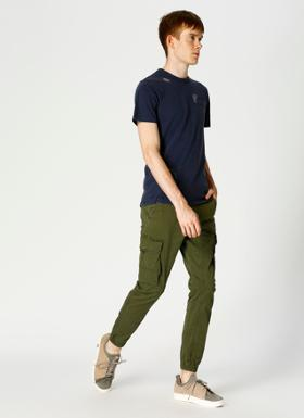 Jack & Jones 12141844 Haki Denim Pantolon