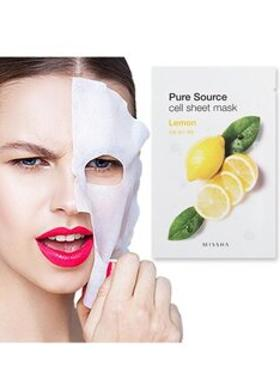 Missha Pure Source Cell Sheet Mask (Lemon)