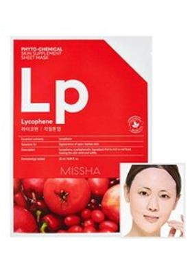 Missha Phytochemical Skin Supplement Sheet Mask (Laycophene/Peeling Tone Up)