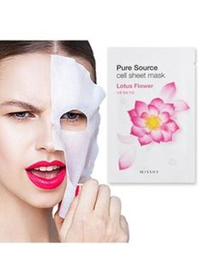 Missha Pure Source Cell Sheet Mask (Lotus)