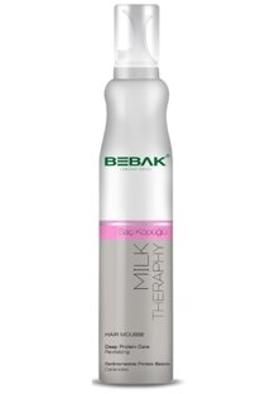 Bebak Bebak Milk Therapy Hair Mousse 200ml