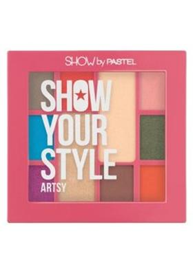 Pastel Pastel Show Your Style Artsy 10 Lu Palet Far