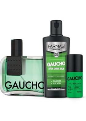 Farmasi Gaucho 3'Lü Set-Edp-Aftershave Balm-Roll-On