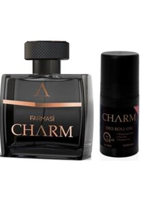 Farmasi Charm 2'Li Set-Edp-Roll-On