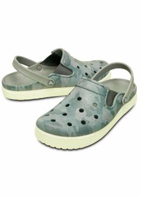 Crocs CITILANE TOPOGRAPHICAL CL Gri Unisex Sandalet