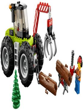 LEGO Lego City Great Vehicles Forest Tractor 60181